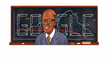 Sir W Arthur Lewis Was Awarded Nobel on This Day in 1979: Google Celebrates His Contributions With a Doodle!