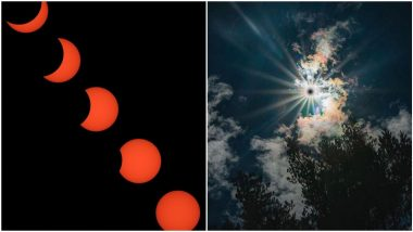 Total Solar Eclipse of 14th December 2020 Photos: See Stunning Pictures From Celestial Event of Last Surya Grahan of This Year