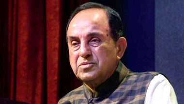 Subramanian Swamy Urges PM Narendra Modi to Replace Rabindranath Tagore's National Anthem 'Jana Gana Mana' With Netaji's INA Version