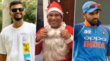 Merry Christmas 2020 Greetings: Sachin Tendulkar, Suresh Raina, Rohit Sharma Lead Cricket Fraternity in Wishing Fans