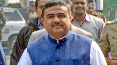 Nandigram Election Case: BJP Leader Suvendu Adhikari Moves SC for Transfer of CM Mamata Banerjee's Plea Outside West Bengal