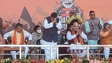 Suvendu Adhikari Joins BJP, Days After Quitting Trinamool, in Presence of Amit Shah in Midnapore