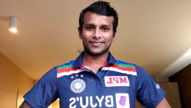 T Natarajan First Wicket Video: New Indian Cricket Team Pacer Removes Marnus Labuschagne to Scalp His Maiden International Wicket