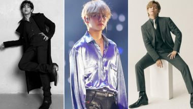 BTS Kim Tae-hyung Birthday Special: Ahead of 'V-Day,' Here Are Some Hot Pictures and Solo Music Tracks of the K-Pop Singer for ARMYs Delight!