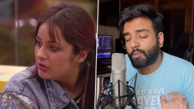 Shehnaaz Gill's 'Tuada Kutta Tommy' Dialogue Gets a Quirky Musical Touch, Courtesy 'Rasode Mein Kaun Tha' Fame Yashraj Mukhate (Watch Video)