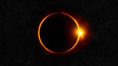 Annular Solar Eclipse 2021 on June 10, To Be Visible Only in Some Parts of India Including Arunachal Pradesh and Ladakh