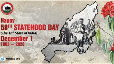 Nagaland Statehood Day 2020 Wishes: PM Narendra Modi, Amit Shah, CM Neiphiu Rio & Others Extend Greetings to the People of Nagaland