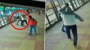 Mumbai Shocker: Man Survives Knife Attack on a Pedestrian Bridge in Kurla, Shocking Video Caught on CCTV