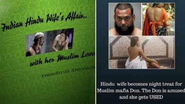 'Amazon Kindle Full of E-Books on Porn Literature & Rape Fantasies', Reports Twitter User, Amazon Removes 'Hindu Wife's Affair With Muslim Lover' Title After NCW Notice