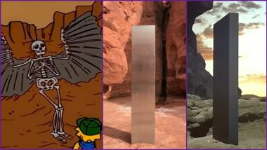 Does The Mystery of Utah Monolith Have 'The Simpsons' Connection? Netizens Link Episodes of American Sitcom and '2001: The Space Odyessey' to The Finding!