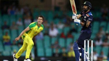 India vs Australia, 3rd ODI 2020 Toss Report and Playing XI Update: T Natarajan, Cameron Green Make Debut as India Opts To Bat