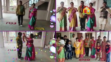 Couple's Unique Wedding Anniversary Celebration by Reliving The Memories of Entire Journey Together With Family is So Wholesome! Beautiful Video Goes Viral
