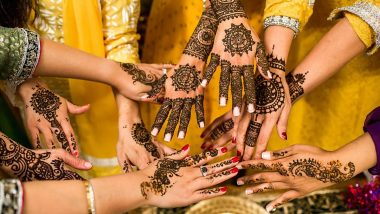 Latest Wedding Mehndi Designs Pics and Videos: From Traditional Indian Bridal Mehendi to Simple Arabic Henna Patterns, New and Beautiful Mehandi Designs to Deckup During This Marriage Season