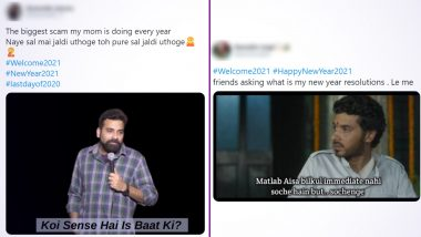 #Welcome2021 Funny Memes and Jokes Are Here to Make Your #LastDayof2020 Amusing! From New Year Resolutions to No Plans on NYE, These Reactions Are Lit