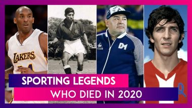 Sporting Legends Who Passed Away In 2020