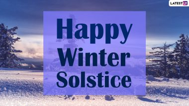 Winter Solstice 2020 Greetings And Wallpapers: WhatsApp Stickers, Facebook Greetings, HD Images, Instagram Stories, Messages And SMS to Send on the Observance