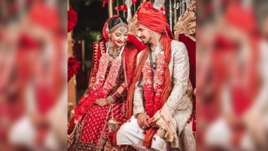 Yuzvendra Chahal Marries Girlfriend Dhanashree Verma; RCB, Wasim Jaffer and Others Wish Couple on Special Day, View Wedding Pics