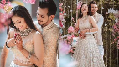 Yuzvendra Chahal Shares 'Engagement Day' Pictures With Dhanashree Verma, Says 'Everything Was Just So Beautiful'