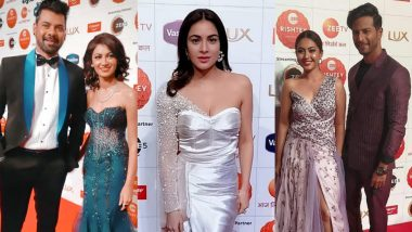 Zee Rishtey Awards 2020: Sriti Jha, Shabir Ahluwalia, Reem Shaikh, Shraddha Arya and Others Look Fashionably Fabulous on the Red Carpet (View Pics)