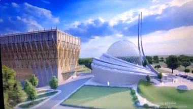 Ayodhya Mosque Blueprint: First Phase of Design Entails Super Speciality Hospital on Land Allotted by Supreme Court, Watch Video