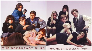 Wonder Woman 1984's Gal Gadot, Chris Pine, Kristen Wiig Recreate Iconic The Breakfast Club Poster (See Pic)