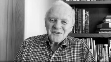 Anthony Hopkins: I Enjoy Working, Getting Out of the House and Doing Something Different