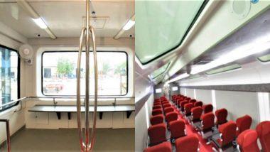 Indian Railways New Vistadome Coach Clears 180 kmph Speed Test; Watch Video