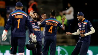 India vs Australia Stat Highlights 1st T20I 2020: Virat Kohli and Co. Register 9th Consecutive Win in T20Is