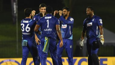 Jaffna Stallions Win LPL 2020, Beat Galle Gladiators By 53 Runs To Clinch the Title!