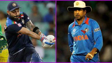 Virat Kohli Creates New Record As he Beats Sachin Tendulkar to Become the Fastest Batsman to Score 12,000 Runs in ODIs, Check Full List