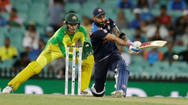 AUS 158/5 in 30.5 Overs (Target 303) | India vs Australia 3rd ODI 2020 Live Score Updates: Kuldeep Yadav Accounts for Cameron Green