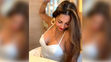 Malaika Arora Treats Fans with a Happy Picture on Instagram, Captions It 'Hello Sunday, Jus Smile N Be Happy'