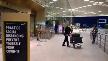 BMC Makes 7-Day Institutional Quarantine Compulsory For Passengers Arriving at Mumbai International Airport From Brazil Amid Rising COVID-19 Cases