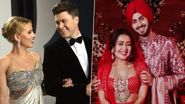 Celebrity Weddings 2020: From Scarlett Johansson-Colin Jost to Neha Kakkar-RohanPreet Singh – Celebs Who Said 'I Do' This Year
