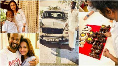 Rajinikanth's Daughters Aishwaryaa R Dhanush and Soundarya Rajinikanth Share Pics Wishing Thalaivar On His 70th Birthday And They Are Super Special!