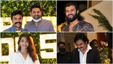 Producer Dil Raju Turns 50! Prabhas, Ram Charan, Vijay Deverakonda, Pooja Hegde, Pawan Kalyan And Many Others Attend The Grand Bash (View Pics)