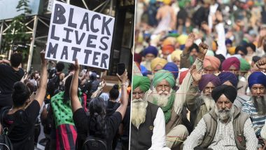 2020 in Protests: From 'Black Lives Matter' Stir to Farmers' Agitation, Major Demonstrations in India and Abroad That Made Headlines This Year
