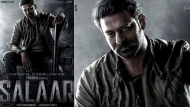 Salaar: Prabhas Collaborates with KGF Director Prashanth Neel for His Next