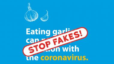 Can Eating Garlic Help Prevent New Strain of Coronavirus Infection? UNESCO Busts the Fake News