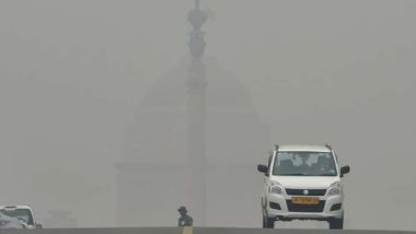 Delhi Air Quality Levels Improve Slightly to 'Very Poor' From 'Severe' Category