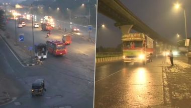 Mumbai Rains: Parts of City Witness Light Drizzle, Cloudy Skies Predicted for Next Two Days Due to Weather System in Arabian Sea