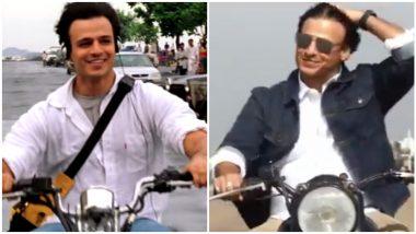 Vivek Oberoi Recreates O Humdum Suniyo Re's Bike Ride as Saathiya Clocks 18 Years (Watch Video)