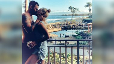 Brian Austin Green, Sharna Burgess Make Relationship Instagram Official With a Warm Kiss (View Post)