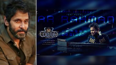 Cobra: On AR Rahman's Birthday, Makers Of Chiyaan Vikram Starrer Announce The Film's Teaser Launch Date