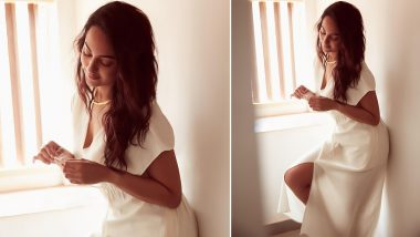 Sonakshi Sinha Is a Sight to Behold in This Stunning White Ensemble (See Pic)