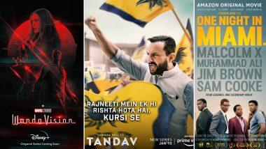 OTT Releases Of The Week: Marvel's Wanda Vision on Disney+ Hotstar, Saif Ali Khan's Tandav, Regina King's One Night in Miami on Amazon Prime and More