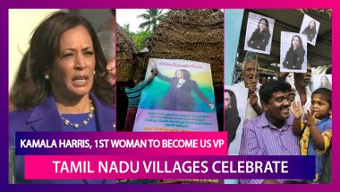Kamala Harris Is First Woman To Become The United States Vice President, Tamil Nadu Celebrates A Daughter