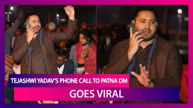 Tejashwi Yadav's Phone Call To Patna District Magistrate Goes Viral, Leaves The Top Bihar Official Stumped