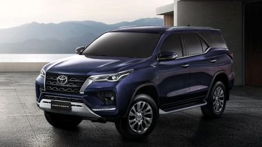 Toyota Fortuner Facelift Launching Today in India at 11:30 AM IST, Watch LIVE Streaming Here