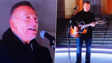 Bruce Springsteen Sings 'Land of Hope and Dreams' at Joe Biden's inauguration (Watch Video)